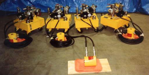Air Powered Hydraulic Systems